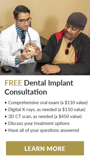 Dental Implant Consultation Ad