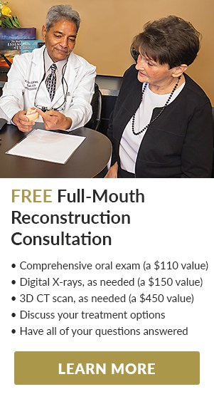 Full-Mouth Reconstruction Consultation Offer